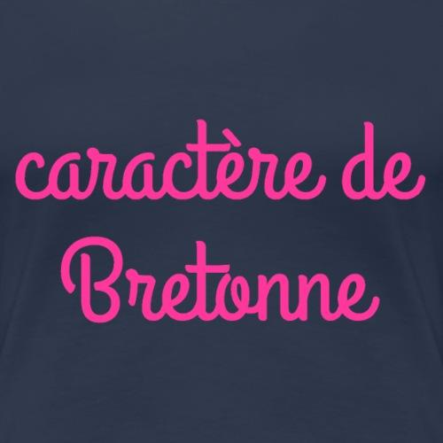 caractère de Bretonne - T-shirt Premium Femme