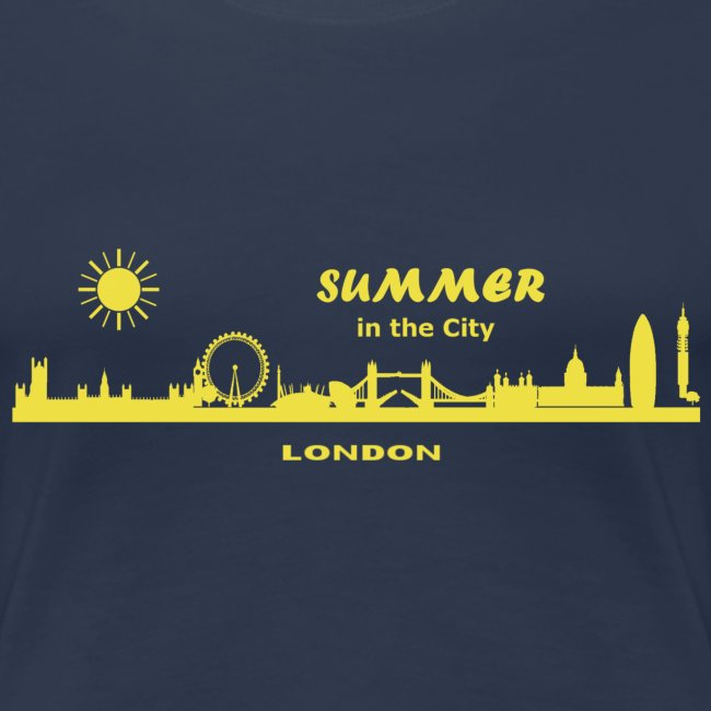 Summer in the City London Great Britain