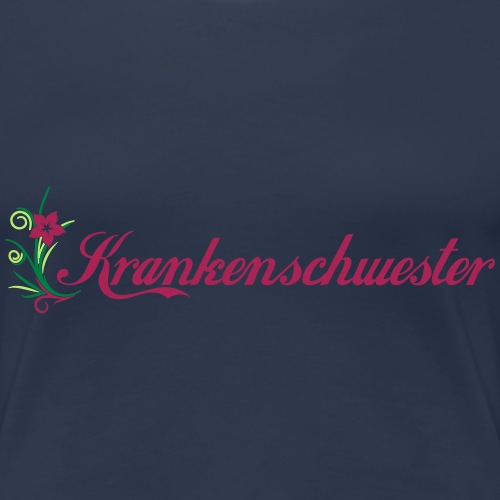 Krankenschwester Ornament - Frauen Premium T-Shirt