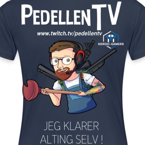 pedellentv - Dame premium T-shirt