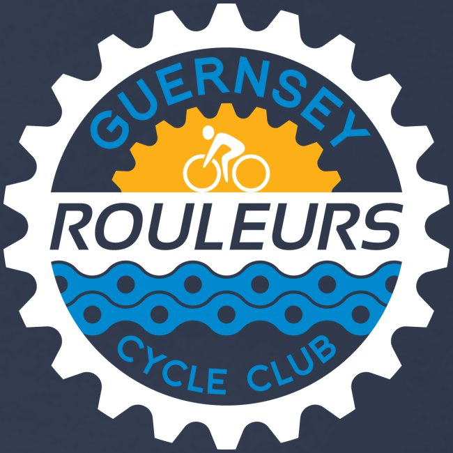Guernsey Rouleurs Small Reversed Logo