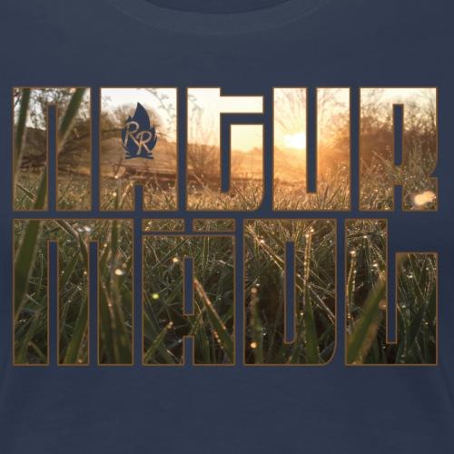 Naturmädl Field - Frauen Premium T-Shirt