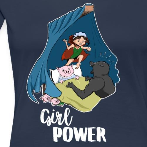 Rotkäppchen schlägt zurück - Frauen Premium T-Shirt