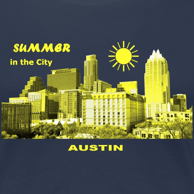 Summer in the City Austin Texas USA