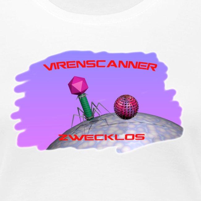 """T-Shirt """"Virenscanner zwecklos"""" für Männer"""