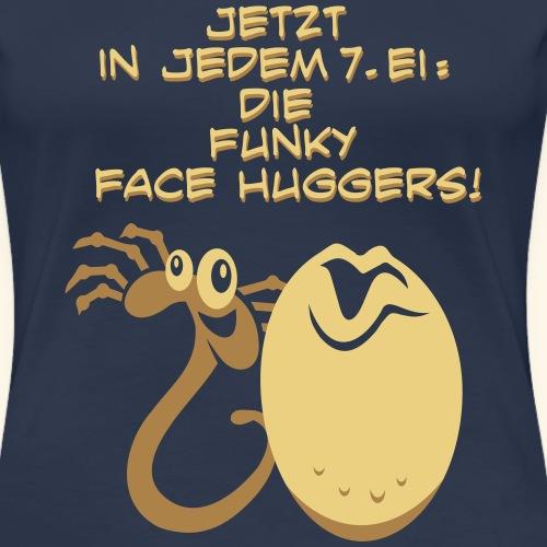 Funky Face Hugger - Frauen Premium T-Shirt