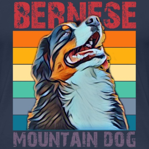 Bernese mountain dog - Vrouwen Premium T-shirt