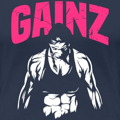 Mrs. GAINZ - Frauen Premium T-Shirt