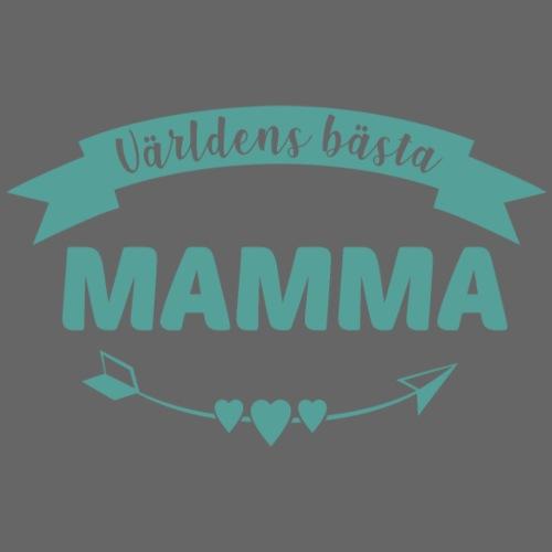 Världens bästa mamma-Turkos - Premium-T-shirt dam