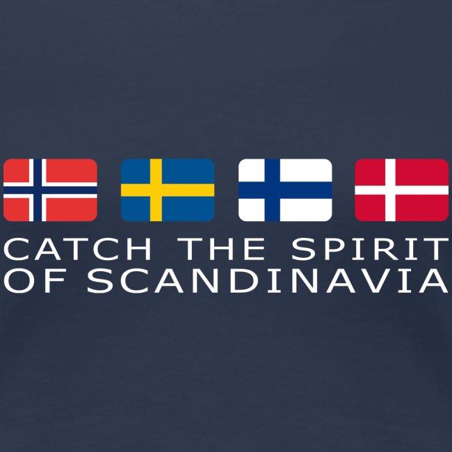 SPIRIT OF SCANDINAVIA white-lettered