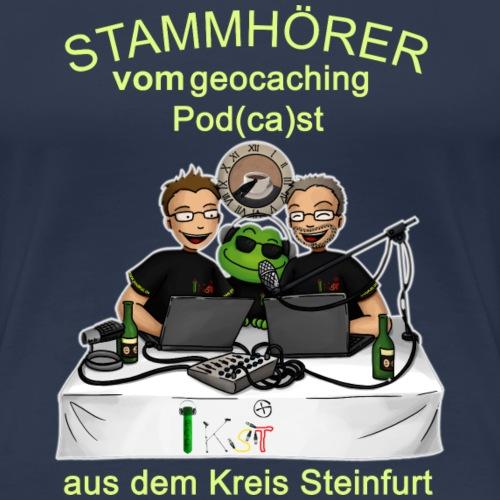 Stammhörer-Shirt - Frauen Premium T-Shirt