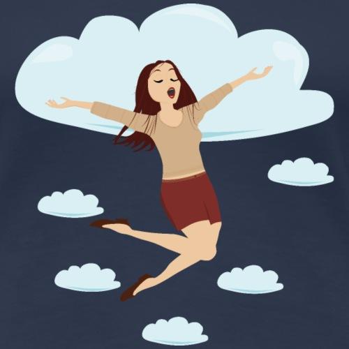 Dans les nuages - T-shirt Premium Femme