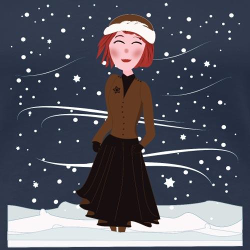Heure d'hiver - T-shirt Premium Femme