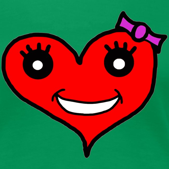 Herz Smiley Schlaufe