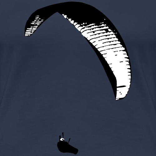Gleitschirm - Frauen Premium T-Shirt