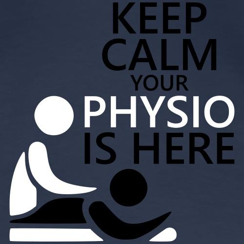 Physio Keep Calm - Frauen Premium T-Shirt