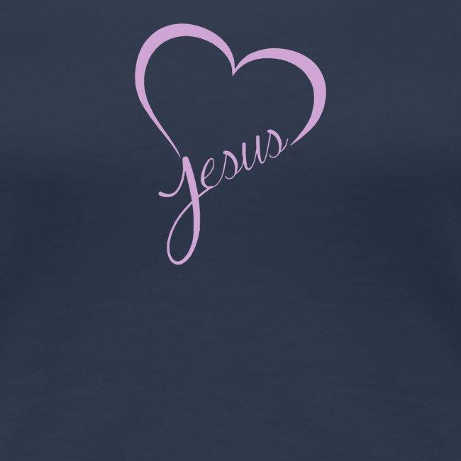 Liebe Jesus Herz mit Gottes Namen