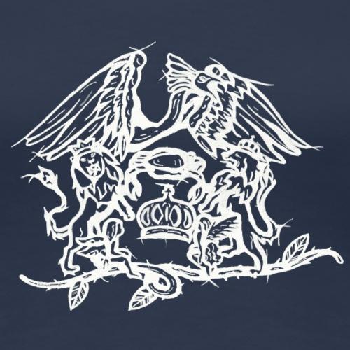 Logo de QUEEN blanc