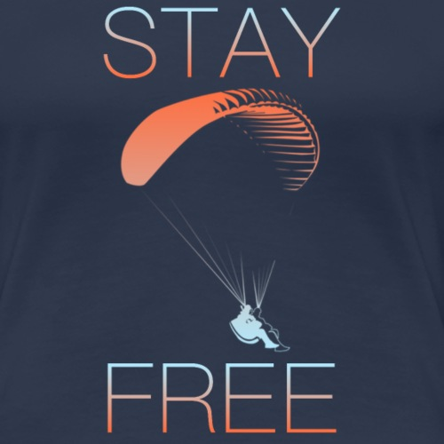 STAY FREE COLOURED - Frauen Premium T-Shirt