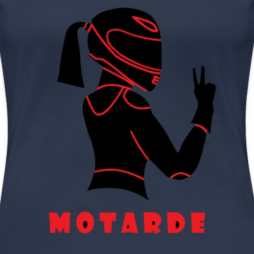 Motarde - T-shirt Premium Femme
