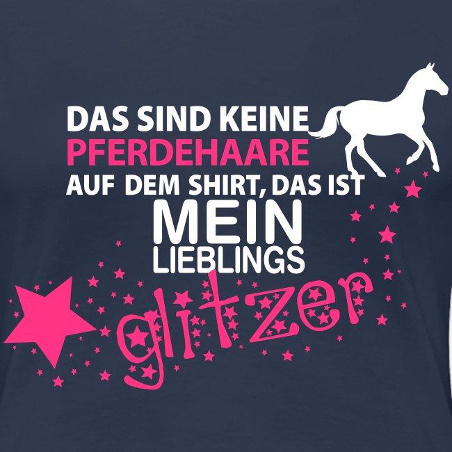 Vorschau: Glitzer Pferd - Frauen Premium T-Shirt