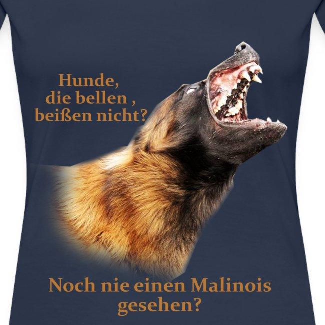 Hunde die bellen Malinois