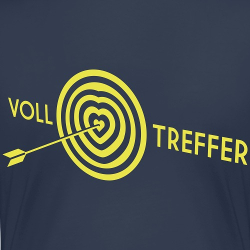 Volltreffer - Frauen Premium T-Shirt