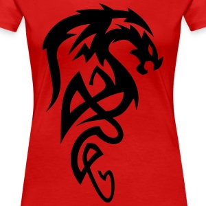 dragon Tribal - Women's Premium T-Shirt