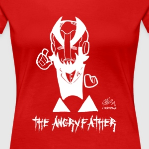 THE ANGRYFATHER - Women's Premium T-Shirt
