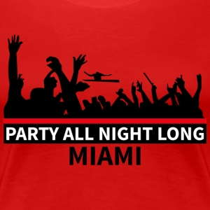 MIAMI Party - Vrouwen Premium T-shirt