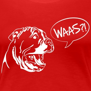 Waas?! - English Bulldog Welpe - Frauen Premium T-Shirt