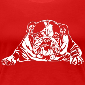 Bad English Bulldog - Frauen Premium T-Shirt