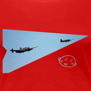 Smily_flight - Premium-T-shirt dam