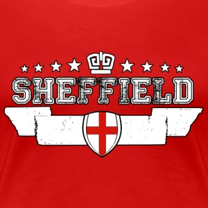 Sheffield - Premium-T-shirt dam
