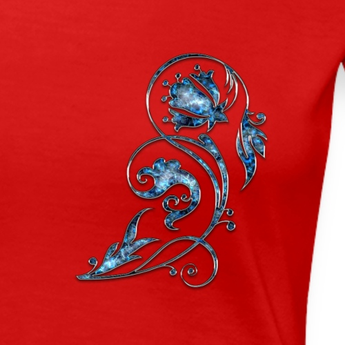 Blumen Ornament - Frauen Premium T-Shirt