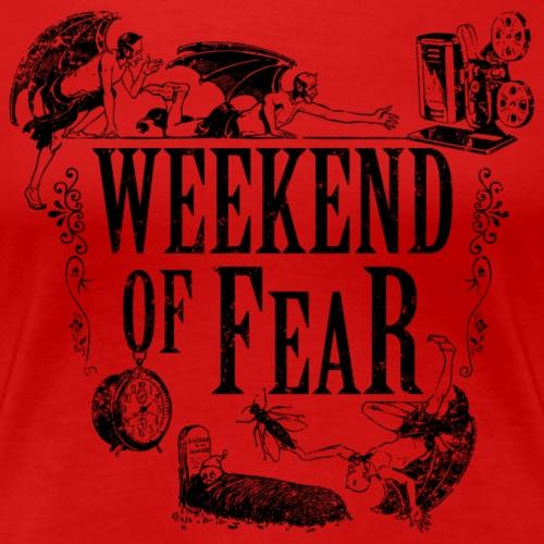Weekend of Fear Vintage 02 Teufel - Schwarz - Frauen Premium T-Shirt