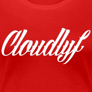 cloudlife_logo_sam_adams - Frauen Premium T-Shirt