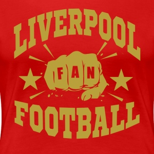 Liverpool_Fan - Premium-T-shirt dam