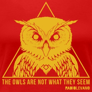 THE OWLS ARE NOT WHAT THEY SEEM - RADIOLEVANO - Women's Premium T-Shirt