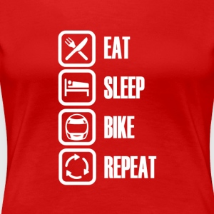 Motorcycle / Bike is de beste! - Vrouwen Premium T-shirt