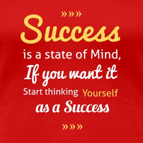 Success is inside You - Women's Premium T-Shirt