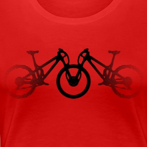 mountain bikes - Women's Premium T-Shirt
