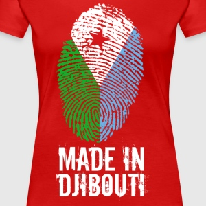 Made In Djibouti / Djibouti / جيبوتي - Women's Premium T-Shirt
