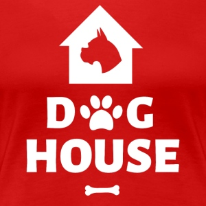 Dog House - Premium-T-shirt dam