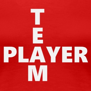 Teamplayer 2 (2171) - Frauen Premium T-Shirt
