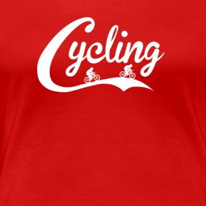 COLA CYCLING - Frauen Premium T-Shirt