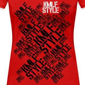 KMLF-STYLE-Grafik-long - Frauen Premium T-Shirt