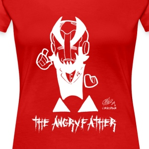 ANGRYFATHER - Premium-T-shirt dam