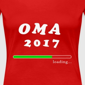 Oma T-shirt 2017 loading - Frauen Premium T-Shirt