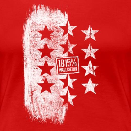 1815% Walliserin - Frauen Premium T-Shirt